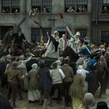Peterloo: un momento del film
