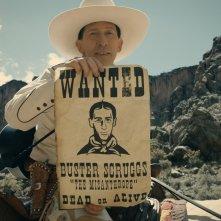 The Ballad of Buster Scruggs: Tim Blake Nelson in un'immagine dell'ultimo lavoro dei fratelli Coen