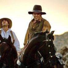 The Sisters Brothers: Joaquin Phoenix e John C. Reilly in una scena del film