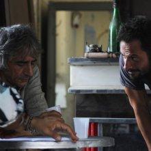 Il bene mio: Pippo Mezzapesa e Sergio Rubini sul set del film