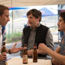 Le fidèle: Matthias Schoenaerts, Jean-Benoît Ugeux e Kerem Can in una scena del film
