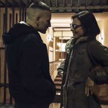 Sulla mia pelle: Alessandro Borghi e Jasmine Trinca in una scena del film
