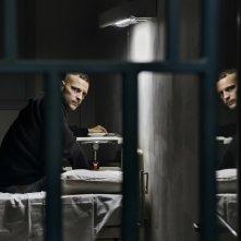Sulla mia pelle: Alessandro Borghi in una scena del film