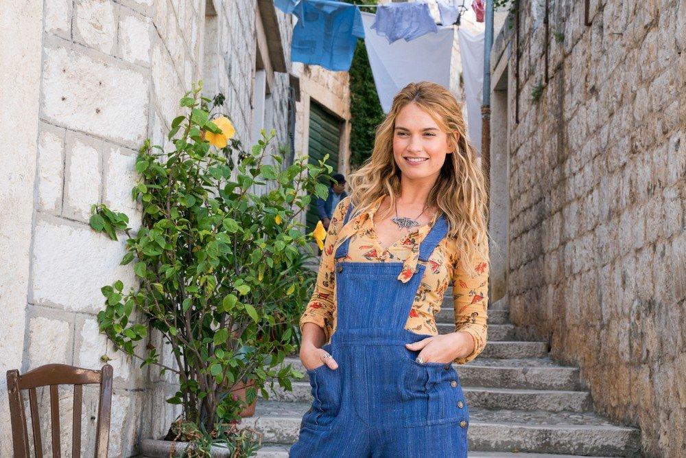 Mamma Mia Lily James