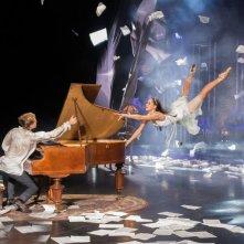 New York Academy - Freedance: Juliet Doherty e Harry Jarvis in una scena del film