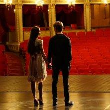 New York Academy - Freedance: Juliet Doherty e Thomas Doherty in un momento del film