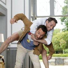 Separati ma non troppo: Julien Boisselier e Gilles Lellouche in una scena del film