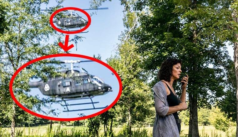 Elicottero Jadis : The walking dead la showrunner conferma che lettera a