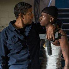 The Equalizer 2 - Senza perdono: Denzel Washington e Ashton Sanders in una scena del film