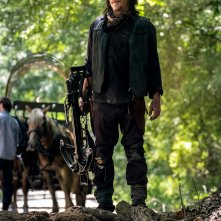 The Walking Dead: Norman Reedus imbraccia le armi