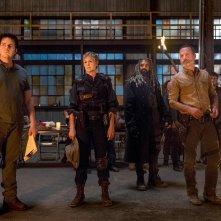 The Walking Dead: Andrew Lincoln, Josh McDermitt, Melissa McBride e Khary Payton