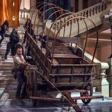 The Walking Dead: Andrew Lincoln e gli altri si dedicano ai lavori pesanti