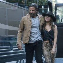 A Star is Born: Bradley Cooper e Lady Gaga in un'immagine tratta dal film