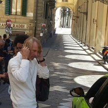 Six Underground, Michael Bay sul set a Firenze