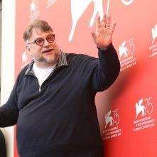 Venezia 2018: Guillermo del Toro al photocall delle giurie