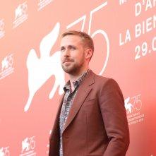 Venezia 2018: uno scatto di Ryan Gosling al photocall de Il primo uomo