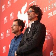 Venezia 2018: Ethan Coen e Joel Coen al photocall di The Ballad of Buster Scruggs