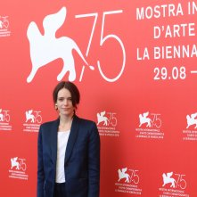 Venezia 2018: uno scatto di Stacy Martin al photocall di Vox Lux