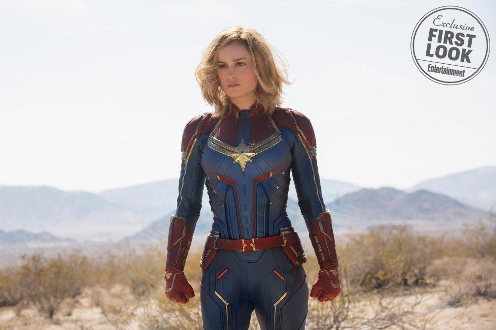 Captain Marvel Brie Larson L9A8Mtj