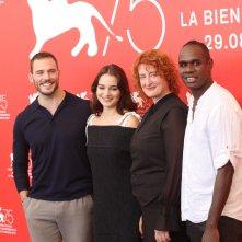 Venezia 2018: il cast al photocall di The Nightingale