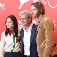 Venezia 2018:Mario Martone, Marianna Fontana e Reinout Scholten van Aschat  al photocall di Capri-Revolution