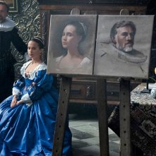 Tulip Fever: Alicia Vikander e Christoph Waltz in un'immagine del film