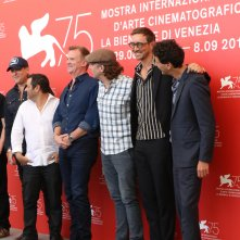 Venezia 2018: il cast al photocall di Driven