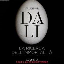 Locandina di Salvador Dalí. La ricerca dell'immortalità