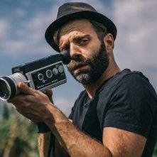 Boxe Capitale: il regista Roberto Palma sul set del documentario