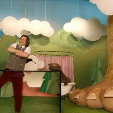Kidding: Jim Carrey in una scena della prima stagione