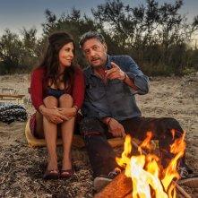 Ricchi di fantasia: Sergio Castellitto e Sabrina Ferilli in un momento del film
