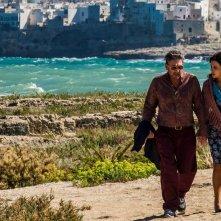 Ricchi di fantasia: Sergio Castellitto e Sabrina Ferilli in una scena del film