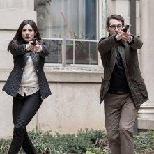 The Good Cop: Josh Groban, Monica Barbaro in una scena