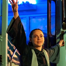 The Purge: Fiona Dourif  in una scena