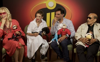 """Gli Incredibili 2, Amanda Lear e Bebe Vio: """"I super papà sono il nostro potere segreto"""""""