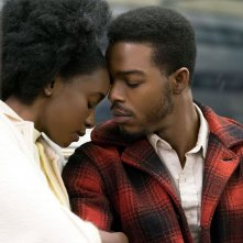 If Beale Street Could Talk: Stephan James e KiKi Layne una scena del film
