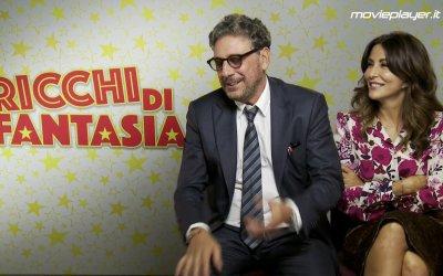 Ricchi di fantasia: intervista a Sergio Castellitto e Sabrina Ferrilli