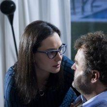 Oltre la nebbia - Il mistero di Rainer Merz: Pippo Delbono e Stephanie Capetanides in un momento del film