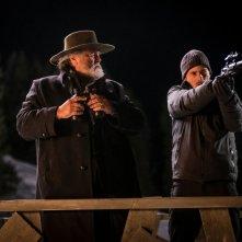 Un nemico che ti vuole bene: Diego Abatantuono e Antonio Folletto in una scena del film