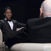 Il banchiere anarchico: Giulio Base e Paolo Fosso in un momento del film