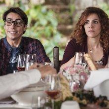 La fuitina sbagliata: Claudio Casisa e Annandrea Vitrano in una scena del film