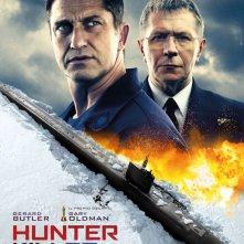 Locandina di Hunter Killer - Caccia negli abissi