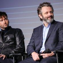 Good Omens: David Tennant e Michael Sheen presentano la serie a Londra