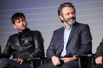 David Tennant Michael Sheen Good Omens