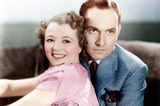 A Star Is Born From Left Janet Gaynor Fredric March 1937