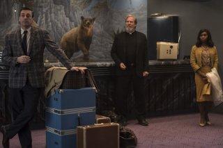 Bad Times at the El Royale: Jon Hamm e Jeff Bridges in una foto del film