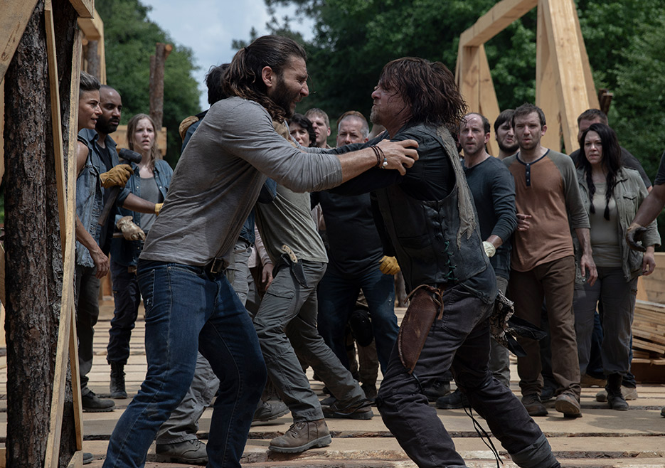 The Walking Dead Episode 902 Daryl Reedus 935