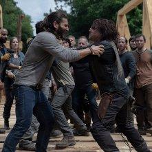 The Walking Dead 9: una foto tratta dalla puntata The Bridge