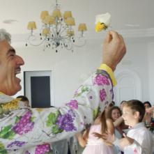 Achille Tarallo: Biagio Izzo in un momento del film