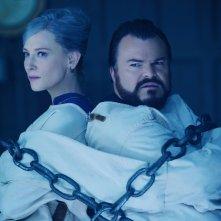 Il mistero della casa del tempo: Cate Blanchett e Jack Black in un momento del film